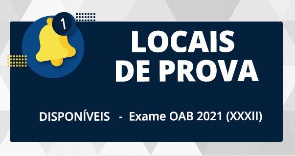OAB disponibiliza informação dos locais de prova do XXXII Exame